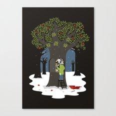 Dissolute tree Canvas Print