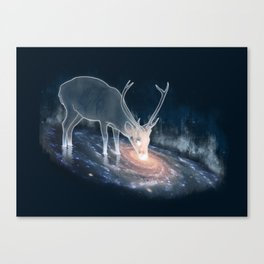 Feed on infinity Canvas Print