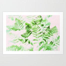 Fern Forest #society6 #decor #buyart Art Print