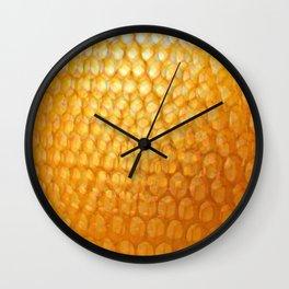 Honeycomb Morning Wall Clock