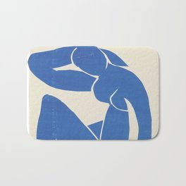 Blue Nude by Henri Matisse  Bath Mat