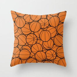 Hoop Dreams II Throw Pillow