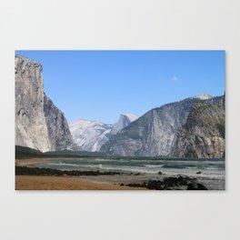 Mountains or somethin Canvas Print