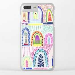 Arches Study #1 Clear iPhone Case