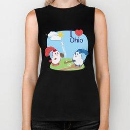 Ernest and Coraline | I love Ohio Biker Tank