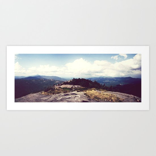 Cascade Summit Art Print