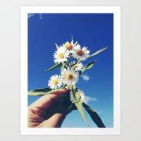 oh daisy, my daisy Art Print