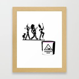 Bandt-Acid  Framed Art Print