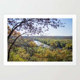 Castlewood - Fall Autumn Forest Photography Art Print
