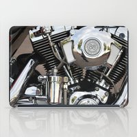 harley iPad Cases featuring Harley  by Marieken