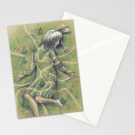Bunny Girl I:  All Roads Lead to Within Stationery Cards