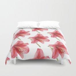 Amaryllis pattern Duvet Cover