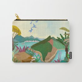 Udaipur, Avralli Mountains, Rajasthan Carry-All Pouch