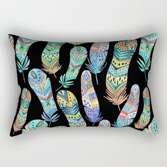 Feathers 2 Rectangular Pillow