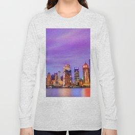 Shanghai - World Big City Long Sleeve T-shirt