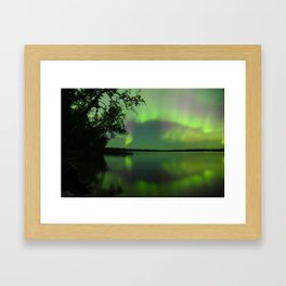 Light Show Framed Art Print
