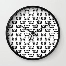 Kitty Lovin Wall Clock