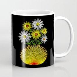 String Art Flowers Coffee Mug