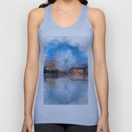 The London Eye Unisex Tank Top