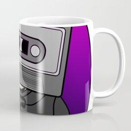 Icelapse Macintosh - Music Inspired Cassette Tape Digital Vector Coffee Mug