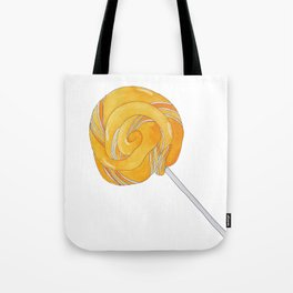 L is for Lollypop Tote Bag