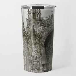 Rouen facade Travel Mug