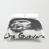 che Duvet Covers featuring Che Guevara by Yonk