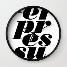 peerpressure | light Wall Clock