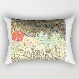 New Year's Sunrise Rectangular Pillow