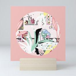 C H I L L x 3 Mini Art Print