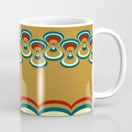 Vintage duplo paon on beige Coffee Mug