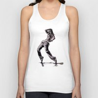 hiphop Tank Tops featuring B GIRL - vanguard style by ARTito