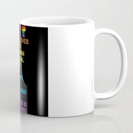 Science Is Real Black Lives Matter LGBT BLM Fist Coffee Mug