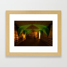 A Tale of Two Bridges  Framed Art Print