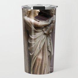 Virgin statue Marie Travel Mug