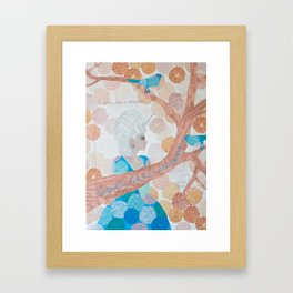 I Was Born A Unicorn Framed Art Print