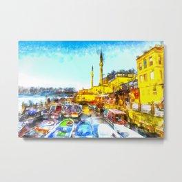 Istanbul Art Metal Print