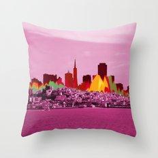 San Fransico Throw Pillow