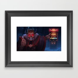 Acererak the Demi-Lich - Ready Player One  Framed Art Print