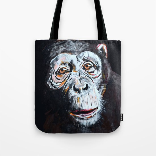 Chimpanzee: One Survivor Tote Bag