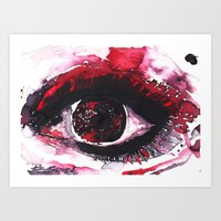 chaos Art Prints featuring chaos by echoes