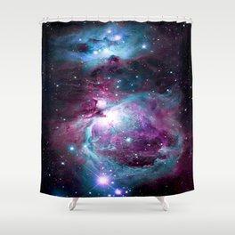 Dark Unicorn Orion Nebula Shower Curtain