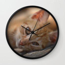 Idleness Wall Clock