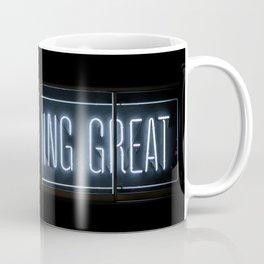 DO SOMETHING GREAT, Neon Coffee Mug