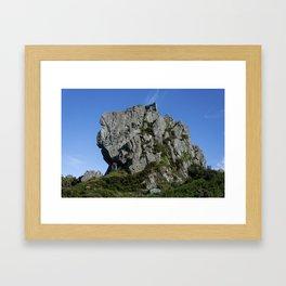 Roche Rock chapel 2 Framed Art Print