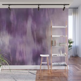 Purple Fusion Illustration Digital Camo Watercolor Blend Fluid Art Wall Mural