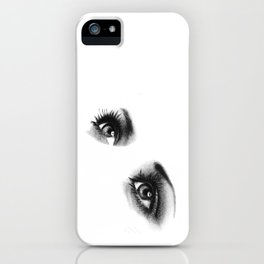 Female Eyes iPhone Case