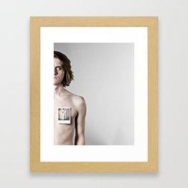 viewfinder.  Framed Art Print