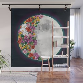 Flower Moon Wall Mural