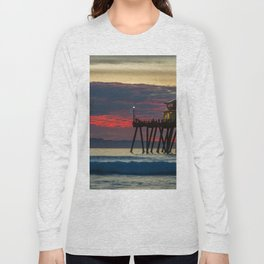 Ruby Clouds Behind Ruby's Long Sleeve T-shirt
